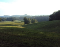 Shinbone Mountain & pasture